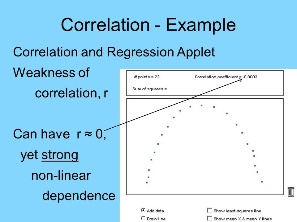 Correlation - HW HW: 2.31 2.33 2.39a