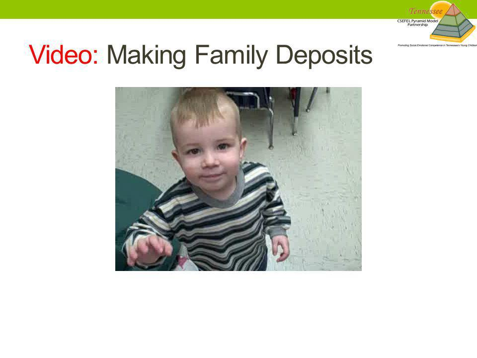 Video: Making Family Deposits
