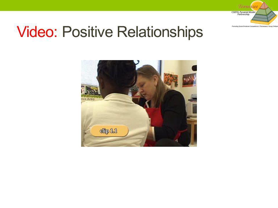 Video: Positive Relationships