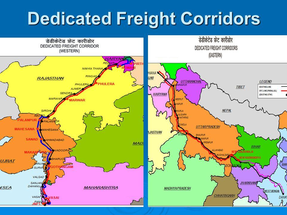 Dedicated Freight Corridors