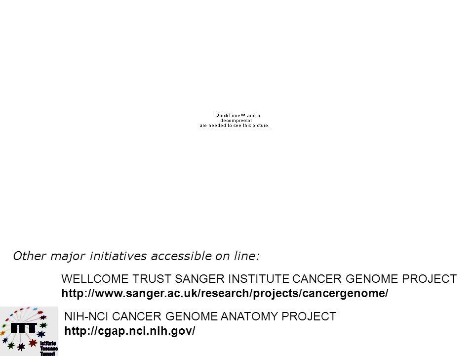 TO UNDERSTAND, TO TREAT TO PREVENT CANCER AT BEST FOR ALL AOU Pisana AUSL 5 Pisa AUSL 6 Livorno - Ospedali Riuniti AUSL 9 Grosseto
