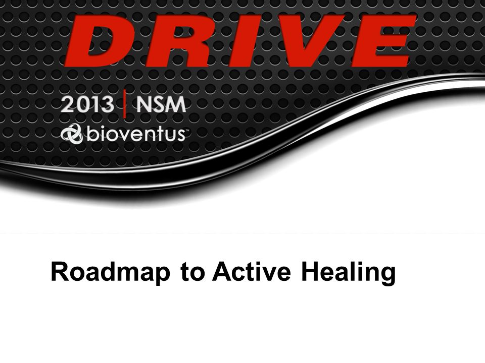 Roadmap to Active Healing