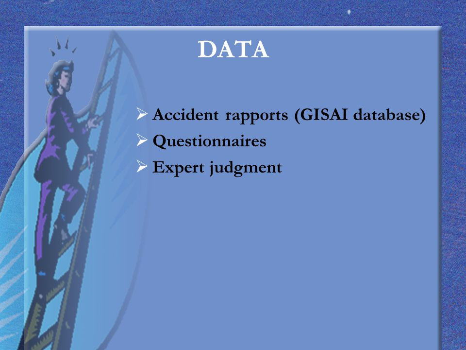 Question 23 The relative frequency of death given fall from ladder is known.