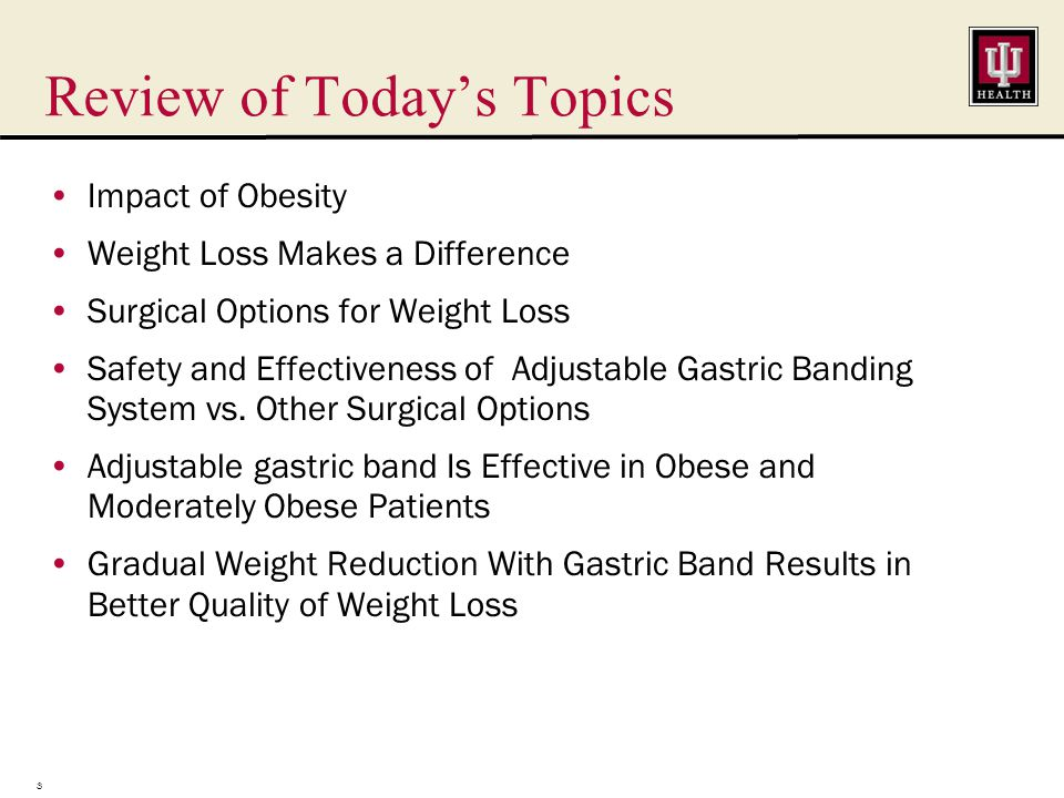 Bariatric Surgery Guidelines Support Your Referrals Nonsurgical treatments ineffective for most morbidly obese patients 1 The American Academy for Clinical Endocrinologists, the Obesity Society, and the American Society for Metabolic & Bariatric Surgery have recommended that morbidly obese patients (BMI >40 or BMI >35 with a obesity related comorbidity) should be offered bariatric surgery.