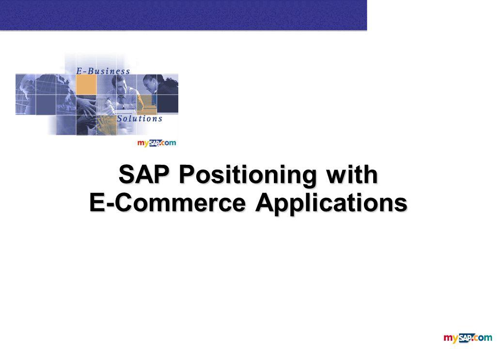 SAP Business Connector XML-based Communication over the Internet B2B Procurement