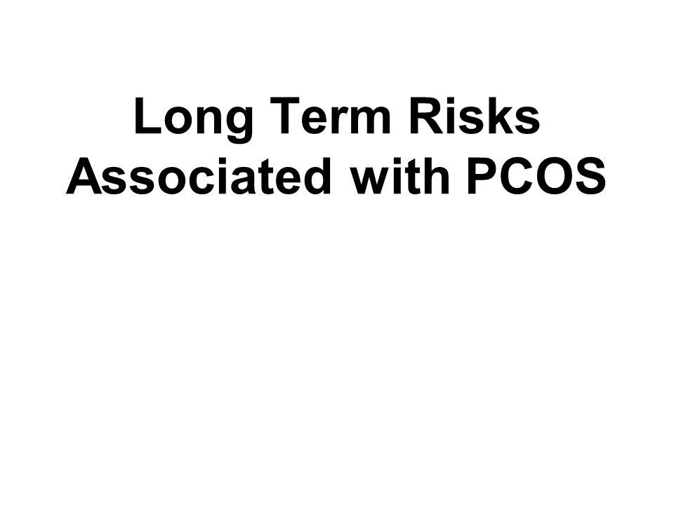 Long Term Risks Associated with PCOS