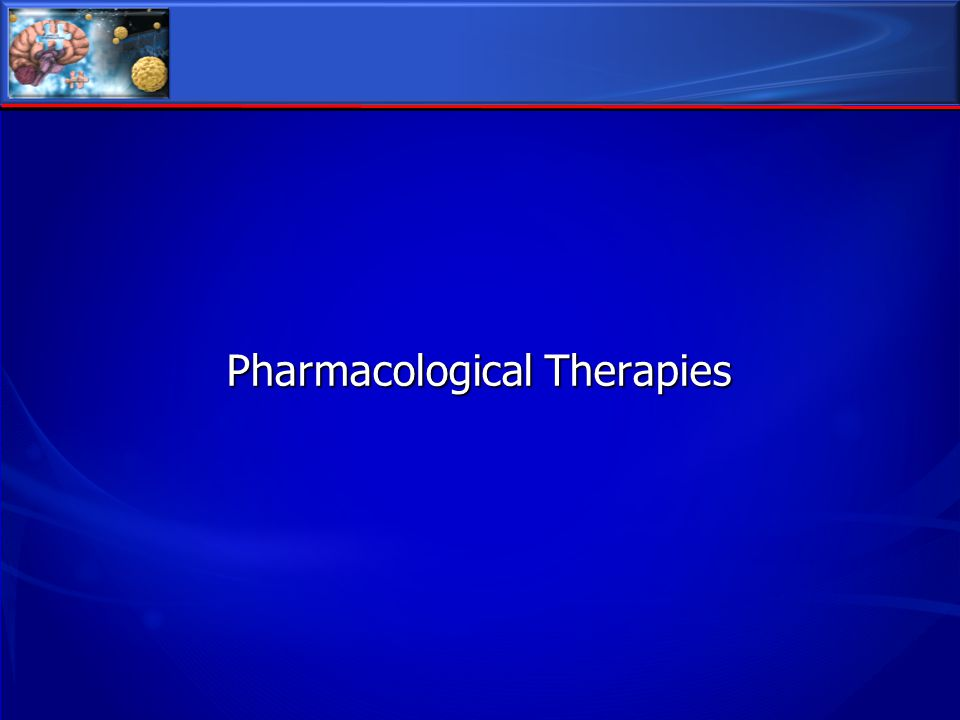 Pharmacological Therapies