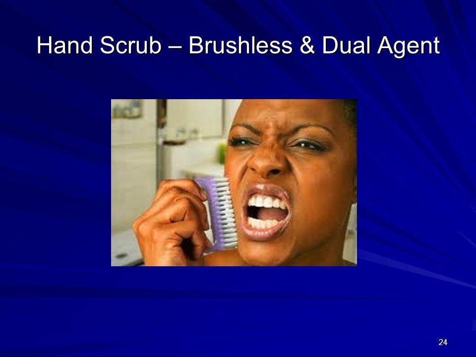 Hand Scrub – Brushless & Dual Agent 24
