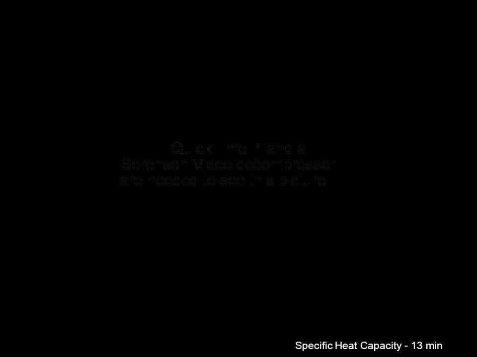Specific Heat Capacity - 13 min