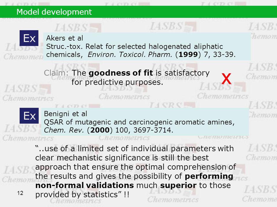12 Model development Ex Akers et al Struc.-tox.