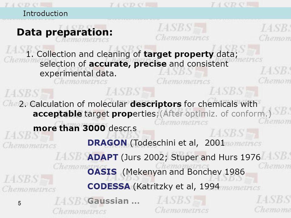 5 Data preparation: 1.