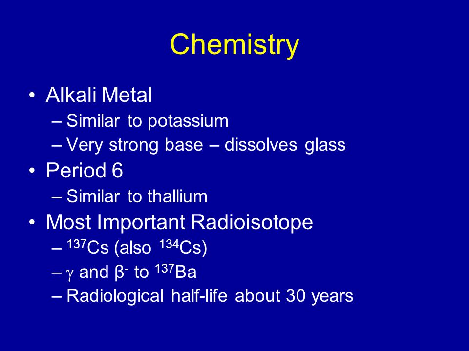 Vyas H: Acquired long QT syndrome secondary to cesium chloride supplement.