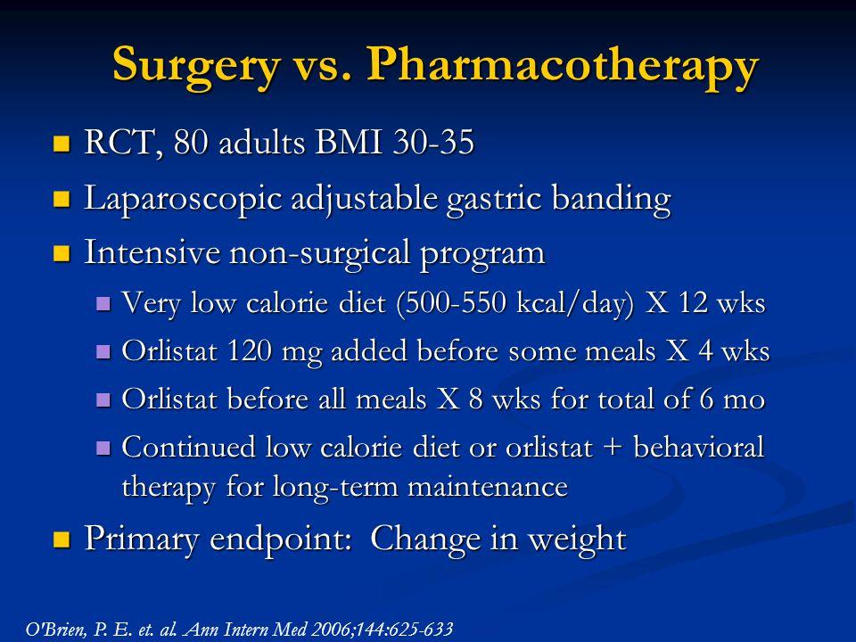 Surgery vs.