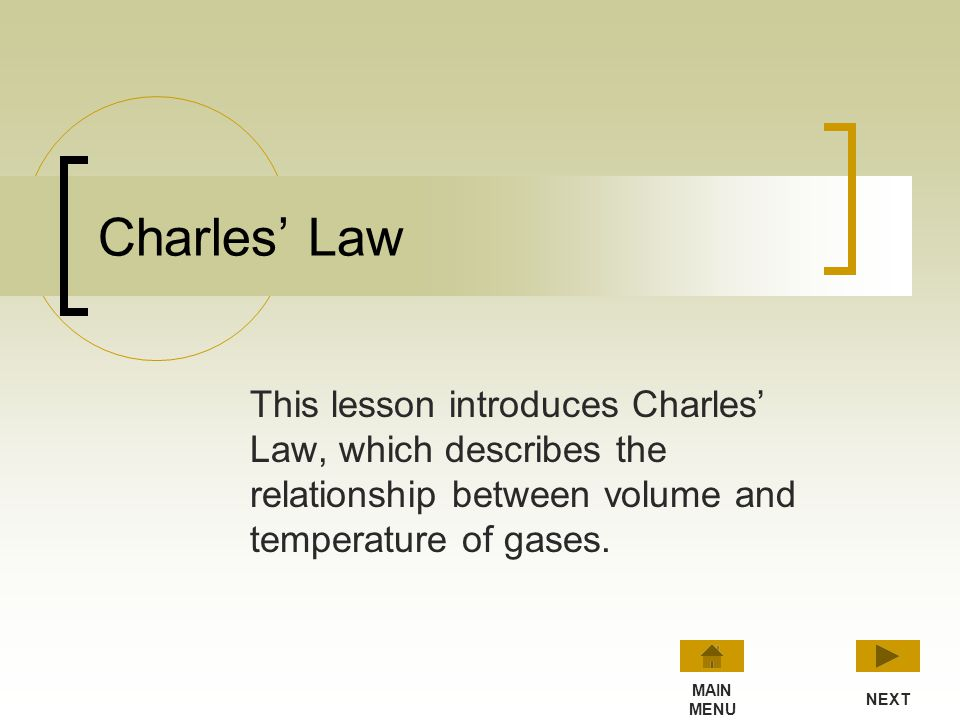 Boyle's Law: Summary Pressure * Volume = Constant p 1 x V 1 = p 2 x V 2 With constant temperature and amount of gas, you can use these relationships t