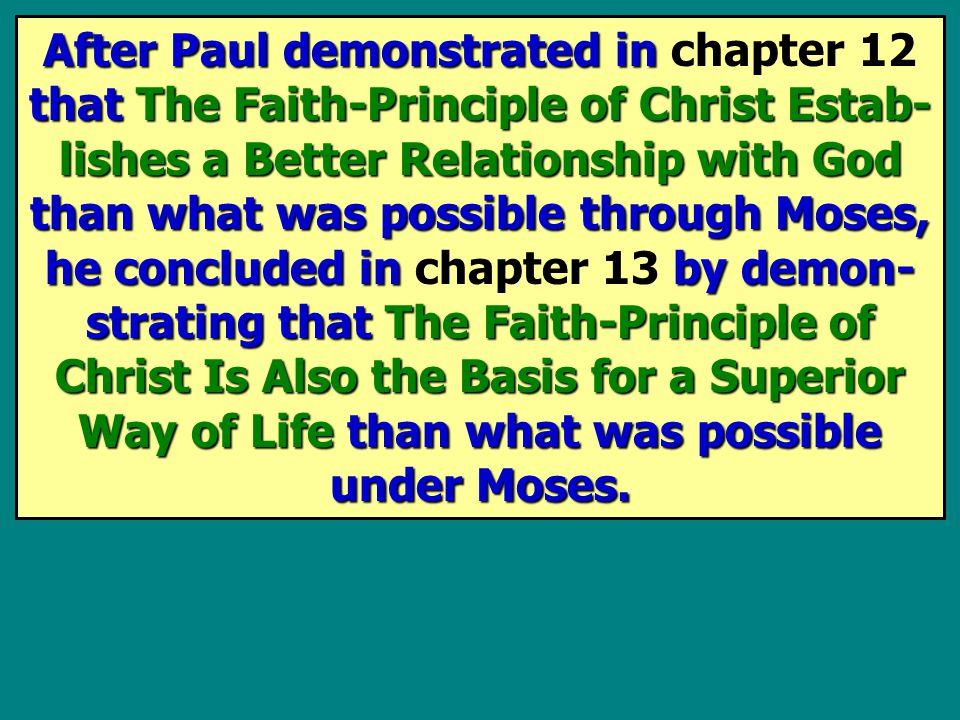 In Paul wrote,.