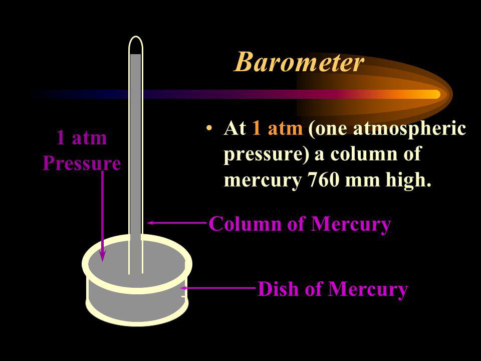 Pressure is measured with a device called a barometer. (They operate on the change of pressure due to the weather)