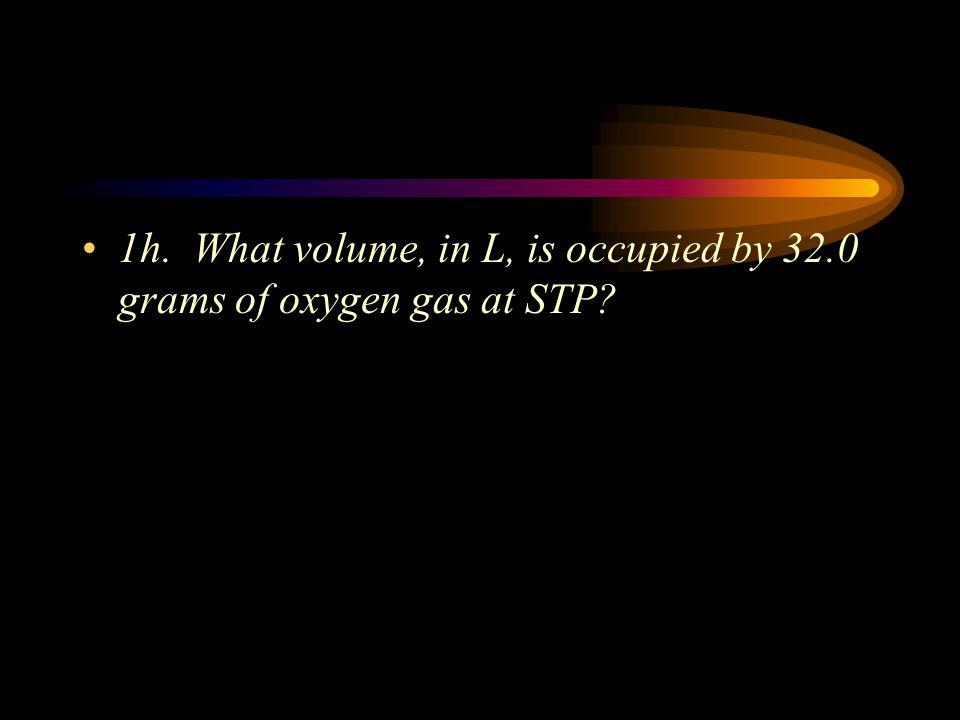 H. Molar Volume of Gases Recall that 1 mole of a compound contains 6.022 X 10 23 molecules of that compound – it doesn't matter what the compound is.