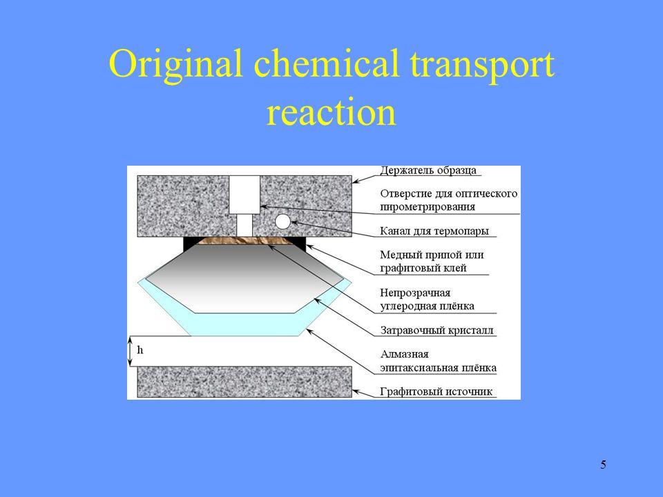5 Original chemical transport reaction