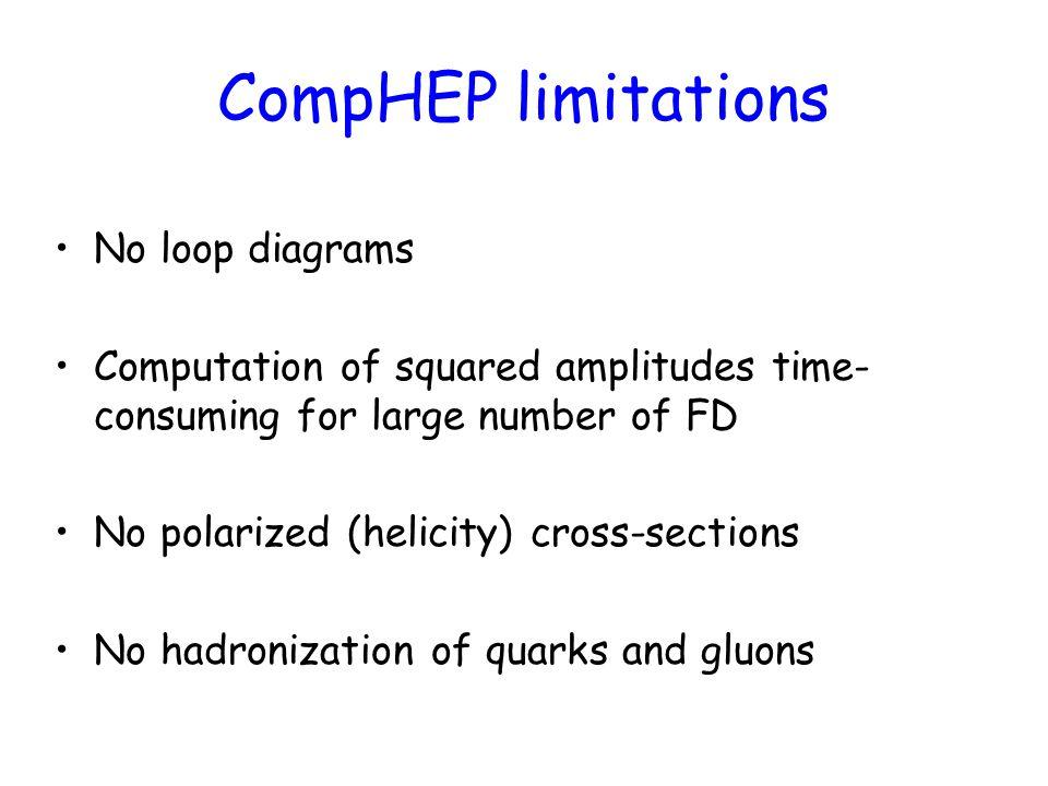 CompHEP Collaboration E.Boos, V. Bunichev, M. Dubinin, L.
