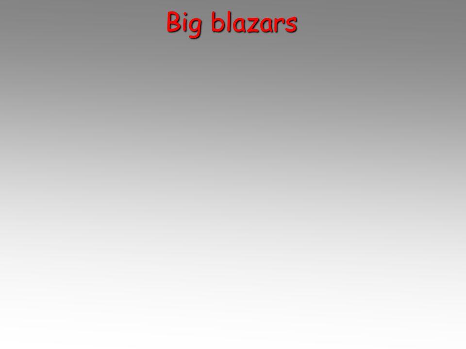 Big blazars