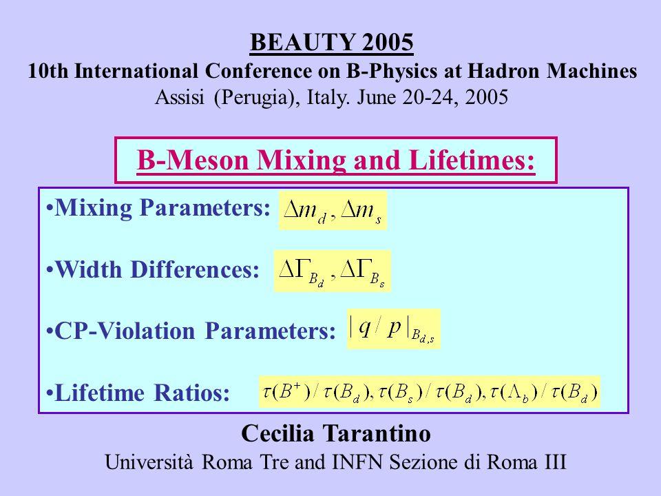 LO26% LO+16% NLO18% NLO+7% [CDF, 2004][D0, CKM2005] (preliminary) (large cancellations at the NLO) (large cancellations at ) [THEORY]