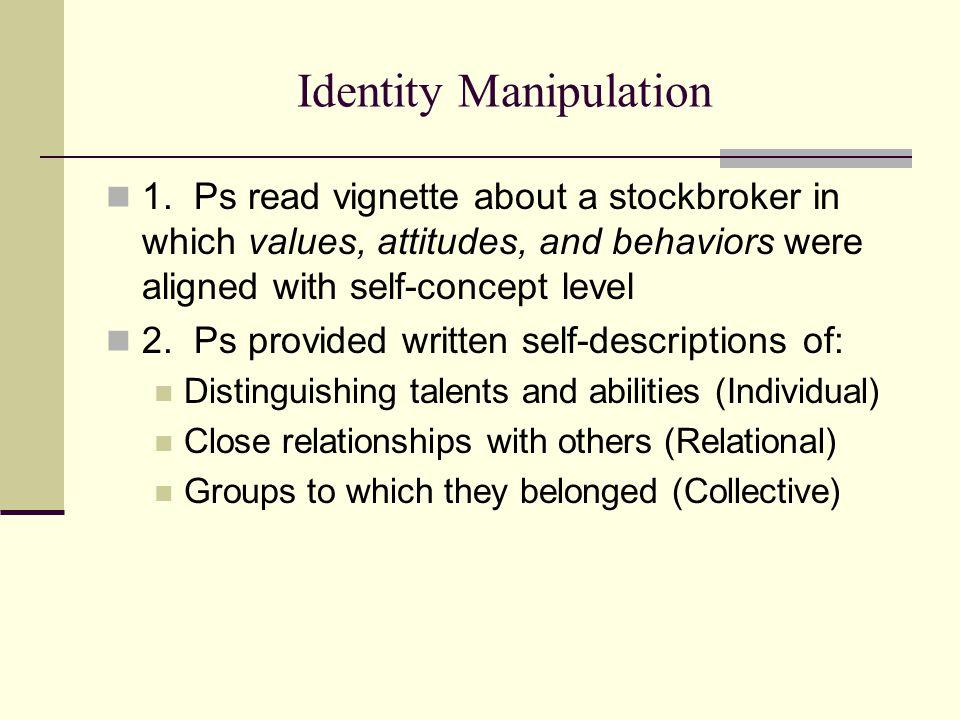 Identity Manipulation 1.