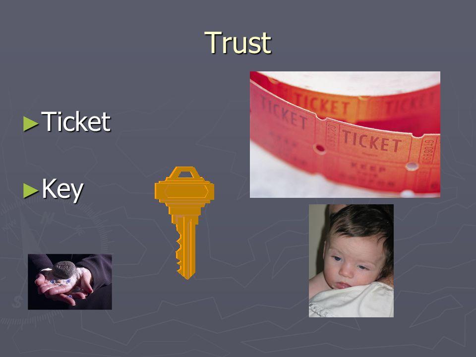 Trust ► Ticket ► Key