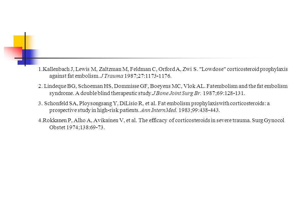 1.Kallenbach J, Lewis M, Zaltzman M, Feldman C, Orford A, Zwi S.