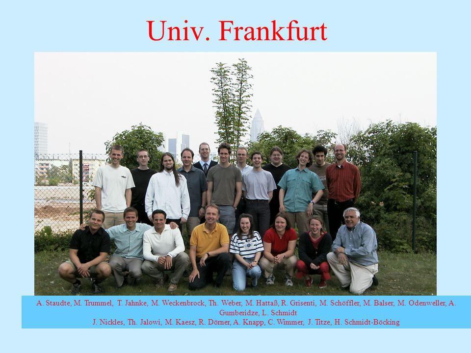 A. Staudte, M. Trummel, T. Jahnke, M. Weckenbrock, Th.