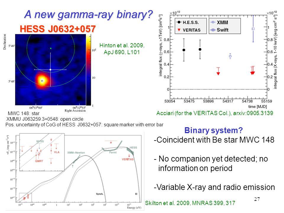 27 Skilton et al. 2009, MNRAS 399, 317 Binary system.