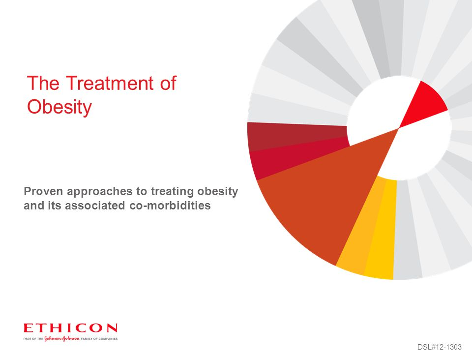 Proven approaches to treating obesity and its associated co-morbidities The Treatment of Obesity DSL#12-1303