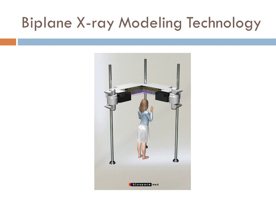 Biplane X-ray Modeling Technology
