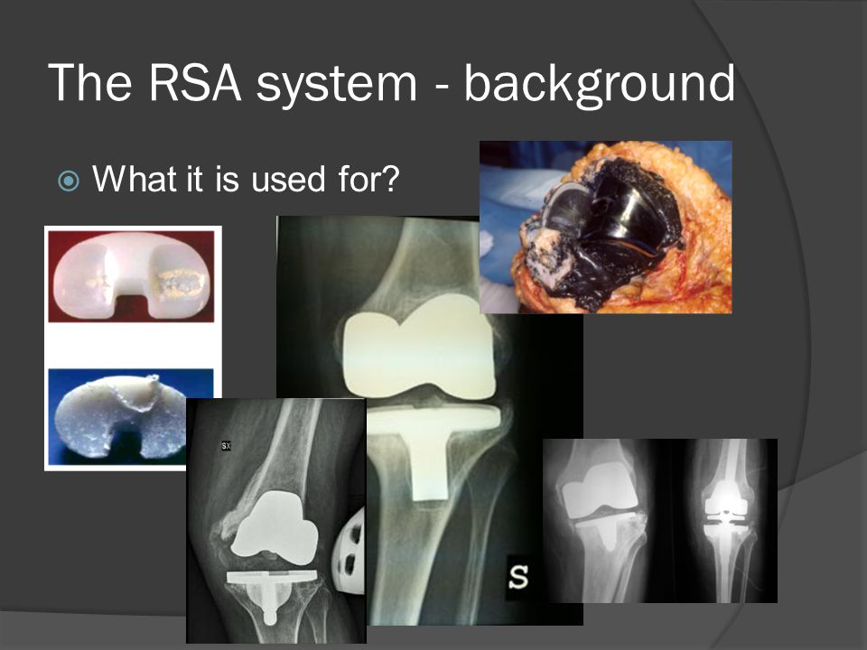  What it is used for The RSA system - background