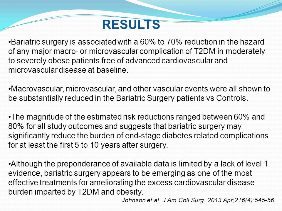 STUDY DESIGN Johnson et al.J Am Coll Surg.