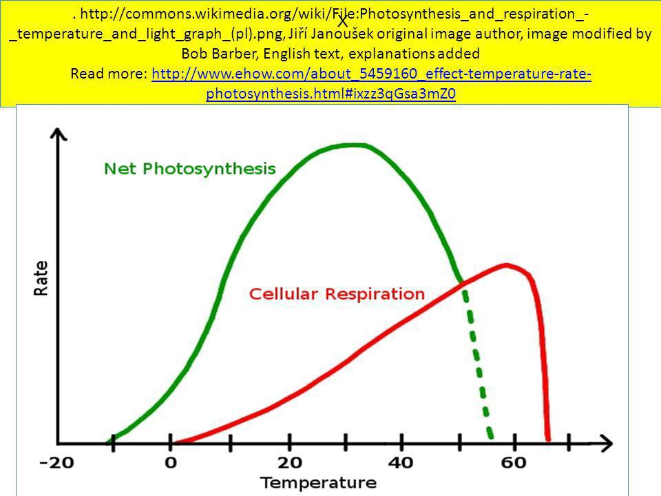 . http://commons.wikimedia.org/wiki/File:Photosynthesis_and_respiration_- _temperature_and_light_graph_(pl).png, Jiří Janoušek original image author,