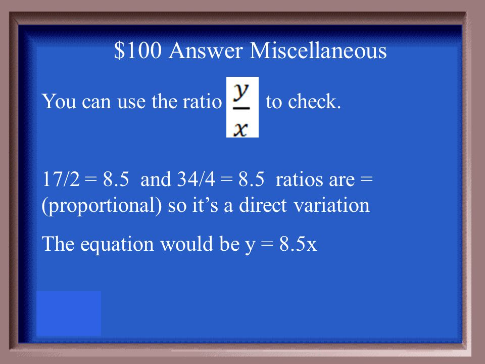 $100 Question Miscellaneous The table shows an employee's pay per hour.