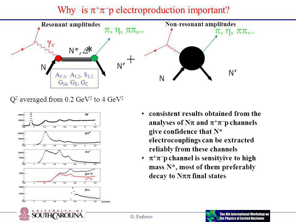 G. Fedotov Why is     p electroproduction important.