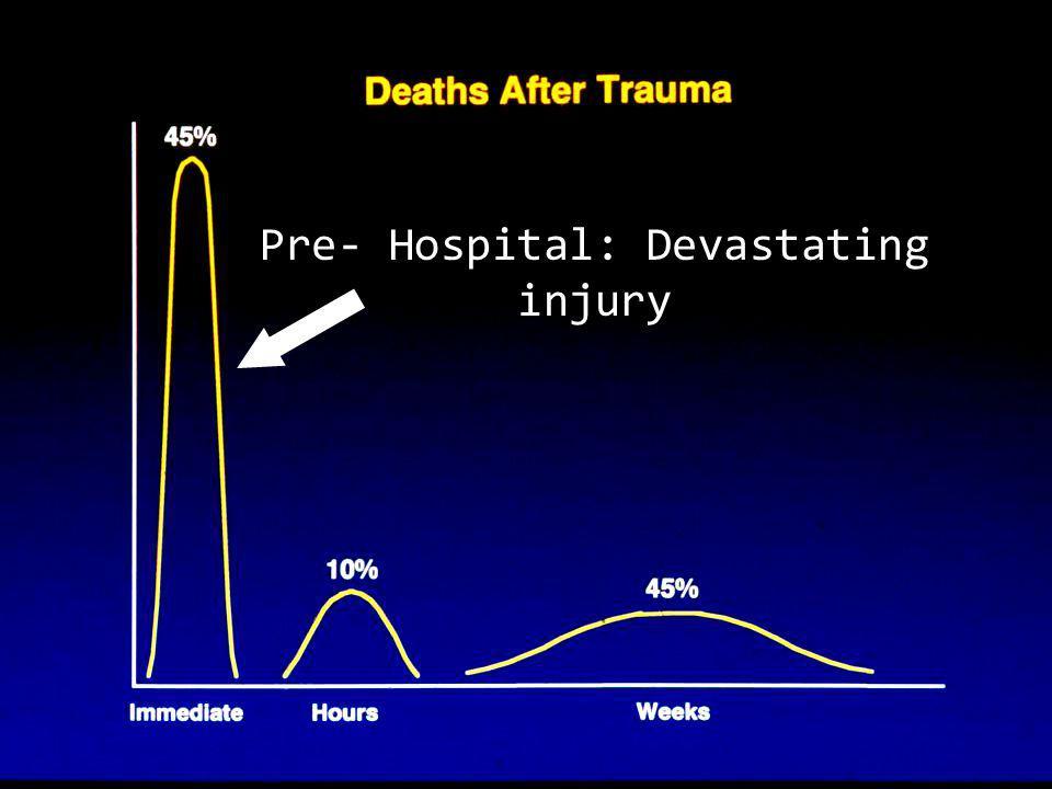 Pre- Hospital: Devastating injury