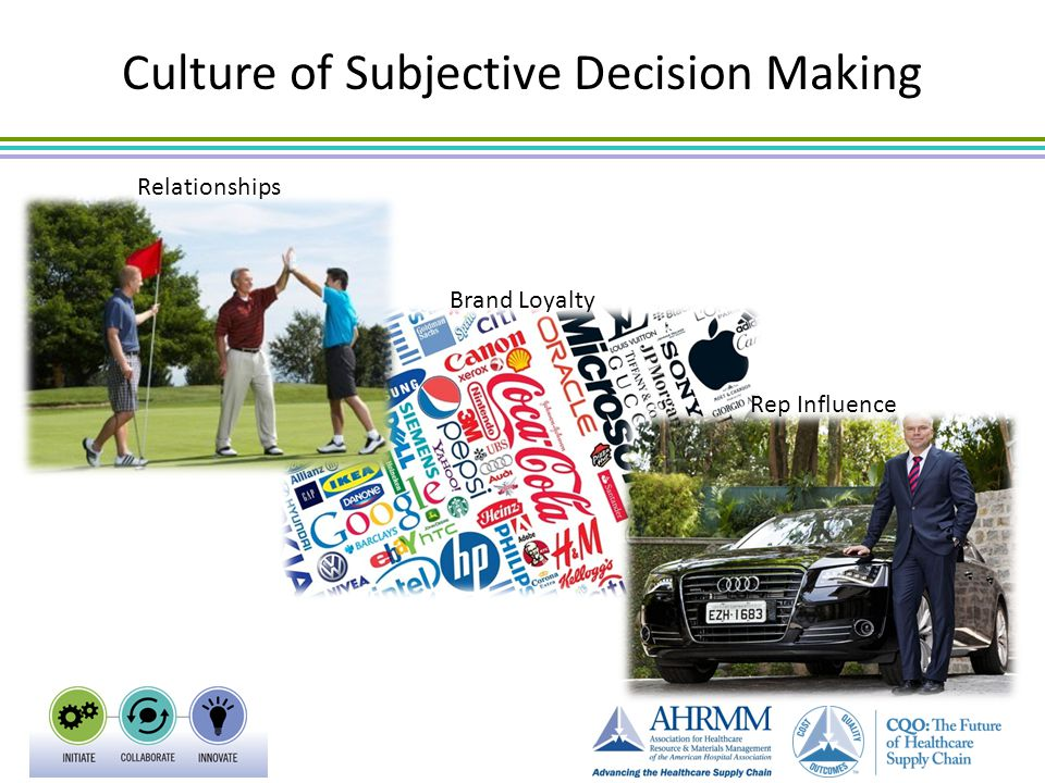 Culture of Subjective Decision Making Relationships Brand Loyalty Rep Influence