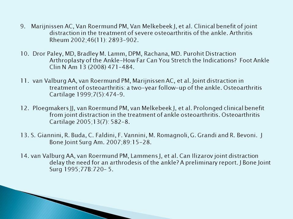 9.Marijnissen AC, Van Roermund PM, Van Melkebeek J, et al.