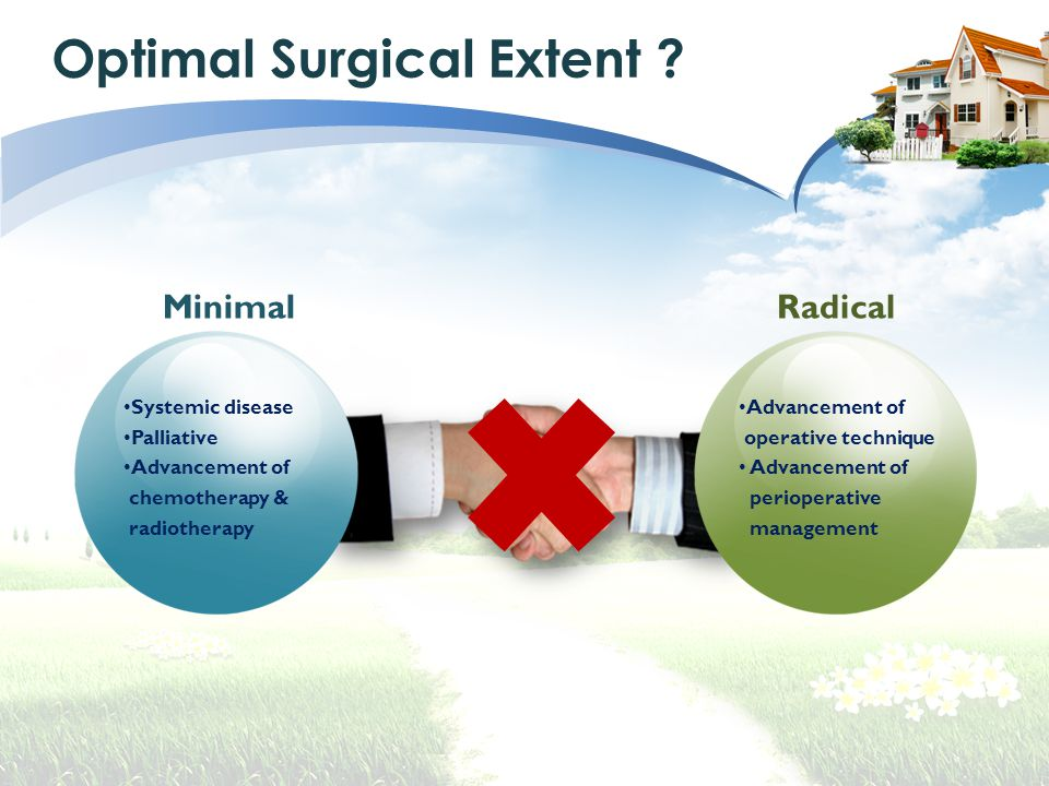 Optimal Surgical Extent .