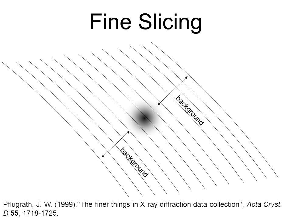 Fine Slicing Pflugrath, J. W.