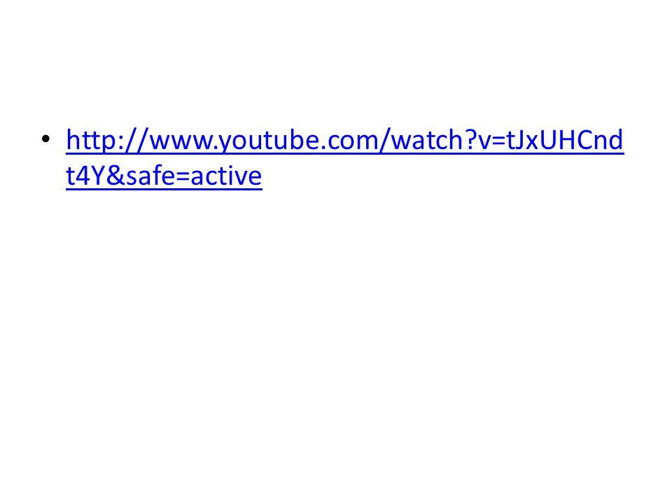 http://www.youtube.com/watch v=tJxUHCnd t4Y&safe=active http://www.youtube.com/watch v=tJxUHCnd t4Y&safe=active