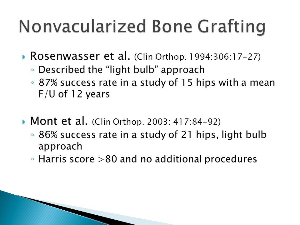  Rosenwasser et al. (Clin Orthop.