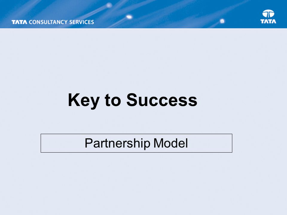 Key to Success Partnership Model