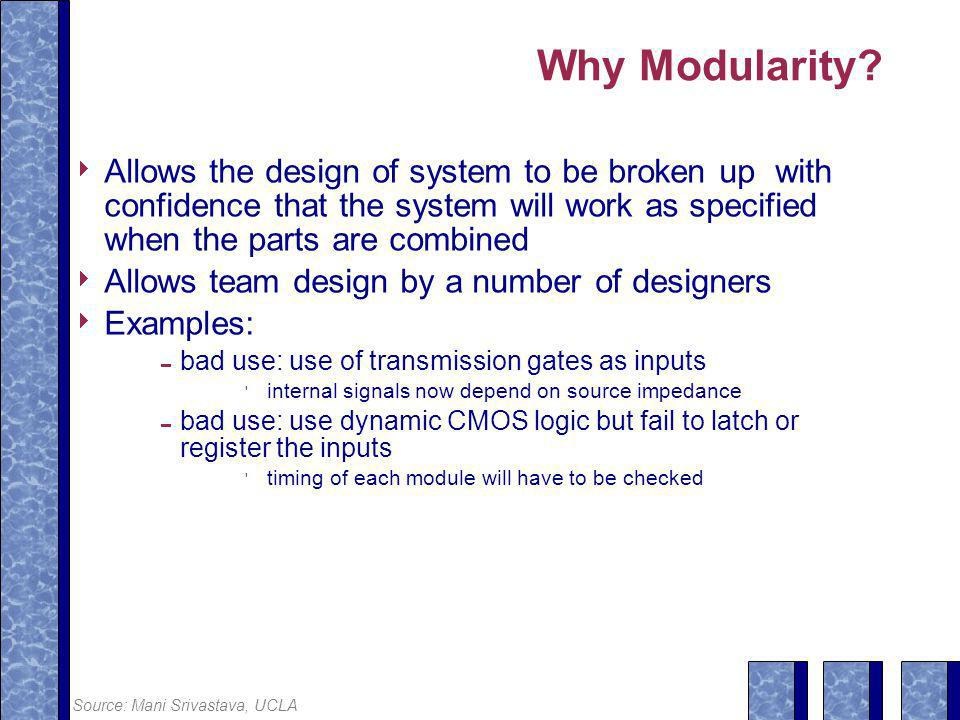 Why Modularity.