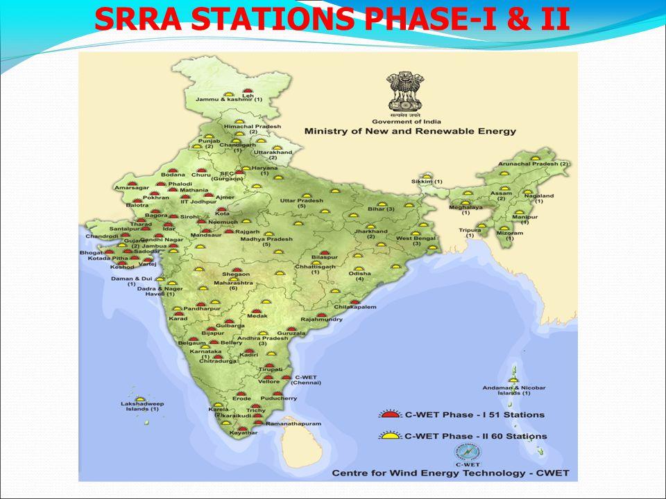 SRRA STATIONS PHASE-I & II