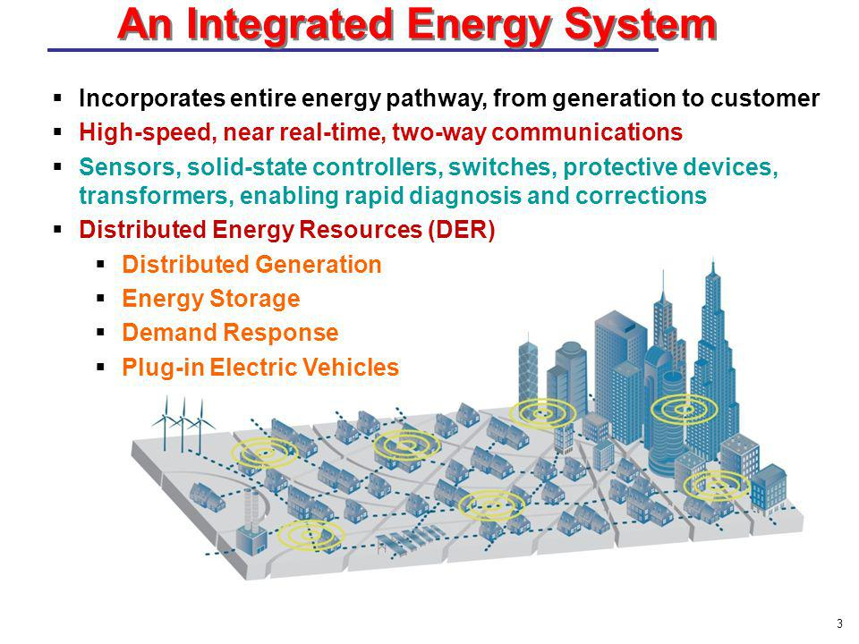 13  Incorporates entire energy pathway, from generation to customer  High-speed, near real-time, two-way communications  Sensors, solid-state contr
