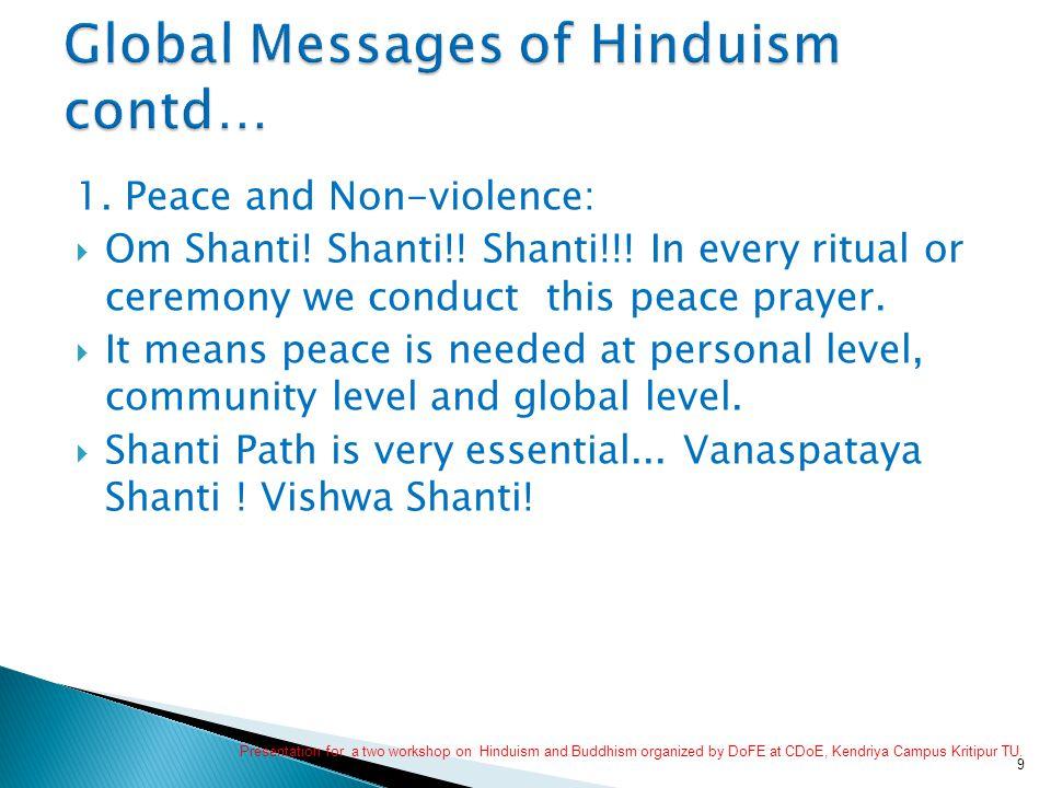 2.Gender Equity:  We address - Sita-ram/ Radhe-shyam/ Gauri-shankar/ Aama-buwa/ Devi-devata etc.