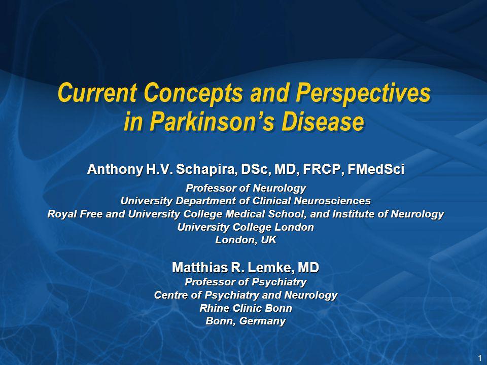 112 Levodopa and Neurodegeneration – The ELLDOPA Study (2) Fahn S, et al.